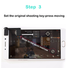 2pcs Free Fire PUBG Mobile Game Shoot Button L1 R1 Joystick Gamepad Assist Controller Rules of Survival Knives Out STG FPS Game