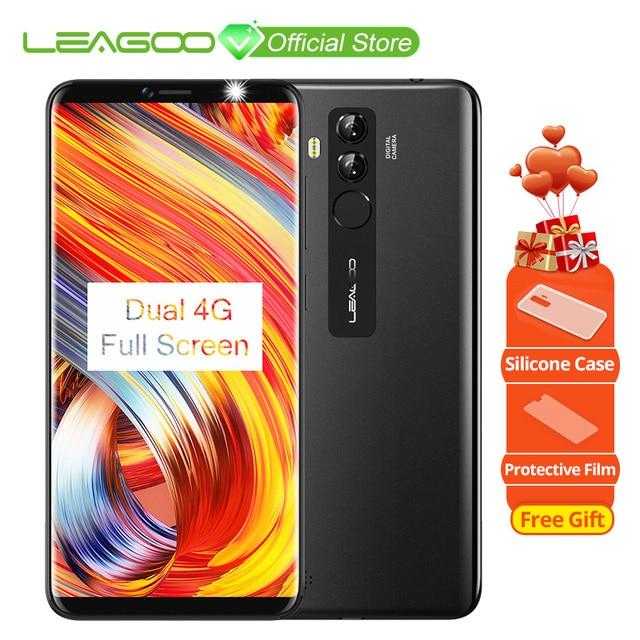 Оригинальный LEAGOO M9 Pro 18:9 5,72 дюймов полный Экран Android 8,1 4 ядра 2 ГБ Оперативная память 16 ГБ Встроенная память отпечатков пальцев лицо разблокировать 4 г LTE телефон