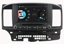 HD 2 din 8″ Car DVD Player for Mitsubishi LANCER 2014 2015 With GPS Bluetooth IPOD TV Radio /RDS SWC AUX IN USB