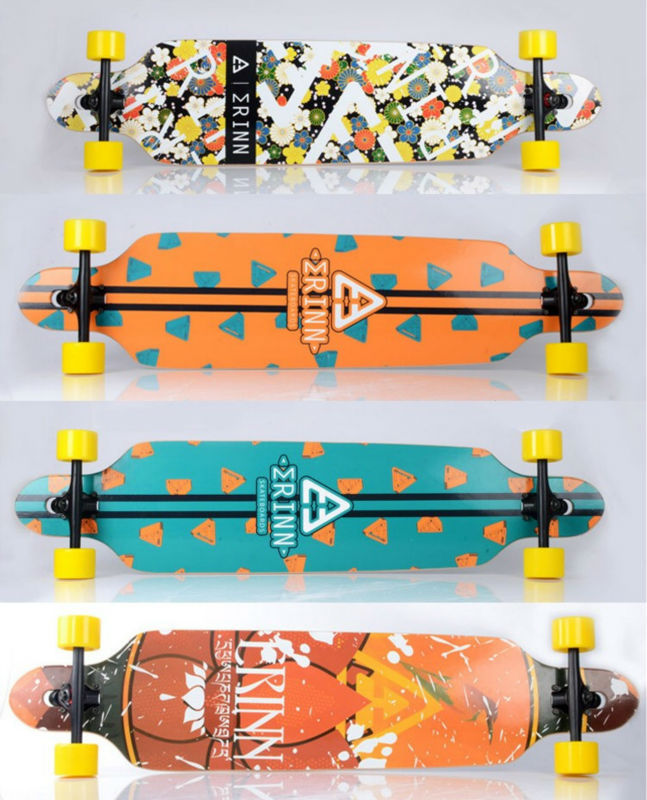 Free Shipping Long Board Road Board Candian Maple 107x24cm Riding Style Downhill Sliding Board CB498