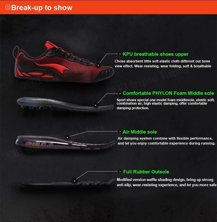 ONEMIX Breathable Mesh Running Shoes for Men Women Sneakers Comfortable Sport Shoes for Outdoor Jogging Trekking Walking 10