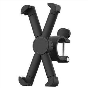 Image 2 - Elektryczny skuter kierownica uchwyt do telefonu Cradle dla Ninebot es1 es2 es4 Kickscooter dla Xiaomi Mijia M365 360 obrót Cradle