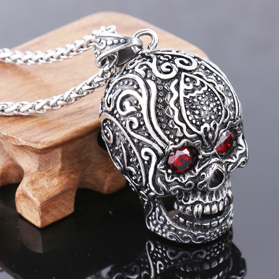 product sugar skull pendant