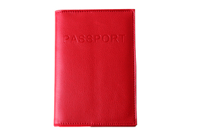 Leather Wallets for Women&Men RFID Passport Cover Travel Protect Passport Card Tickets Holder Wallet Free Shipping 13594B