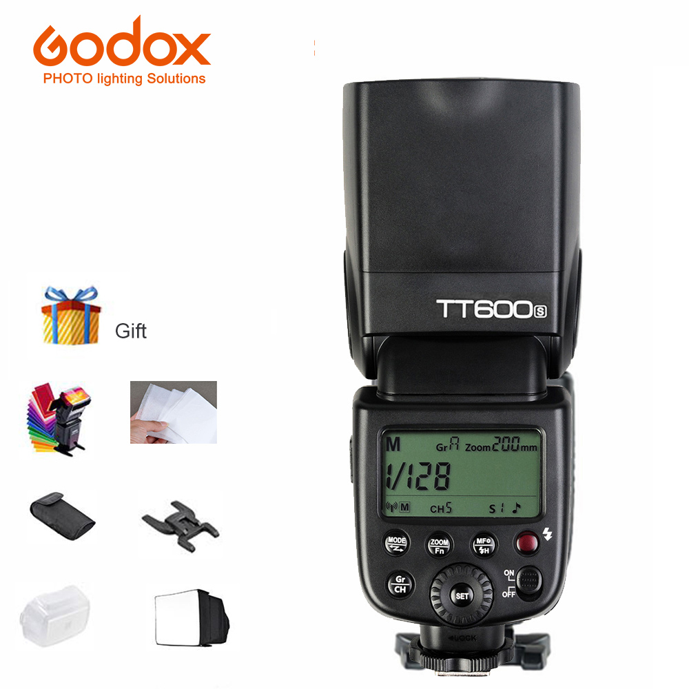 Godox TT600S Speedlite välklambi sisseehitatud 2.4G juhtmevaba - Kaamera ja foto - Foto 1