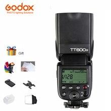 Godox TT600S Speedlite Flash Embutido 2.4G de Transmissão Sem Fio para Canon Nikon Pentax Olympus Câmeras com Sapata Padrão