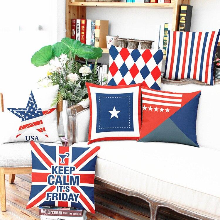2017 Fashion European Decorative Cushions London Style