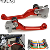 Pivot Dirt Foldable Brake Clutch Levers For Honda CR80R CR85R CR125R CR250R CRM250R CR250AR CRF250 CRF250X