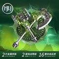 Envío libre mu war craft hero arma doom abismo 3d de corte de Metal Modelo de Construcción Juguetes Rompecabezas Niños Rompecabezas DIY Ensamblado regalo