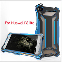 High Quality Metal Cases For Huawei P8 Lite Shockproof Back Cover Outdoors Climbing Running Aviation Shell