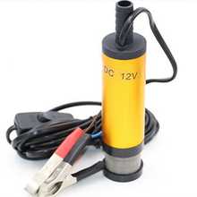 цены 12V DC electric submersible pump for pumping diesel oil water,Aluminum alloy shell,12L/min,fuel transfer pump 12 V