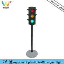 New Small Christmas Plastic Toy Kid 4 Way Traffic Car Pedestrian Signal Light