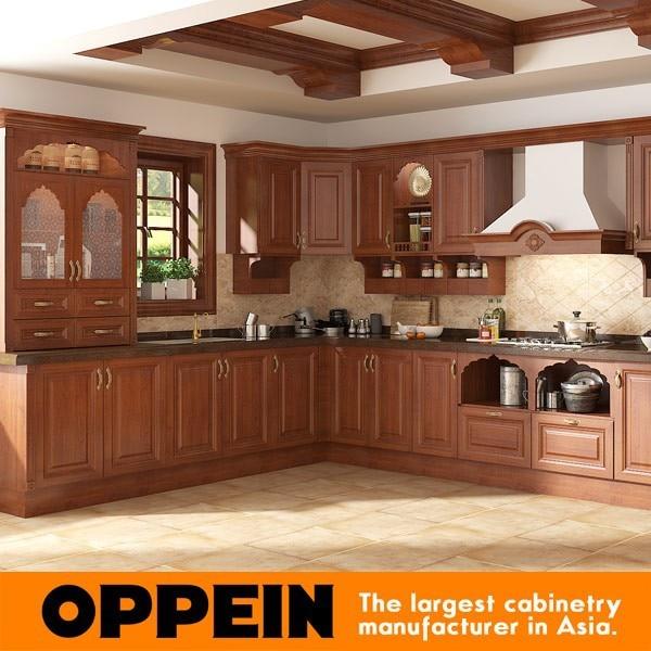 Guangzhou Self Assemble Modern Design Indian Kitchen Cabinets OP15-PP06