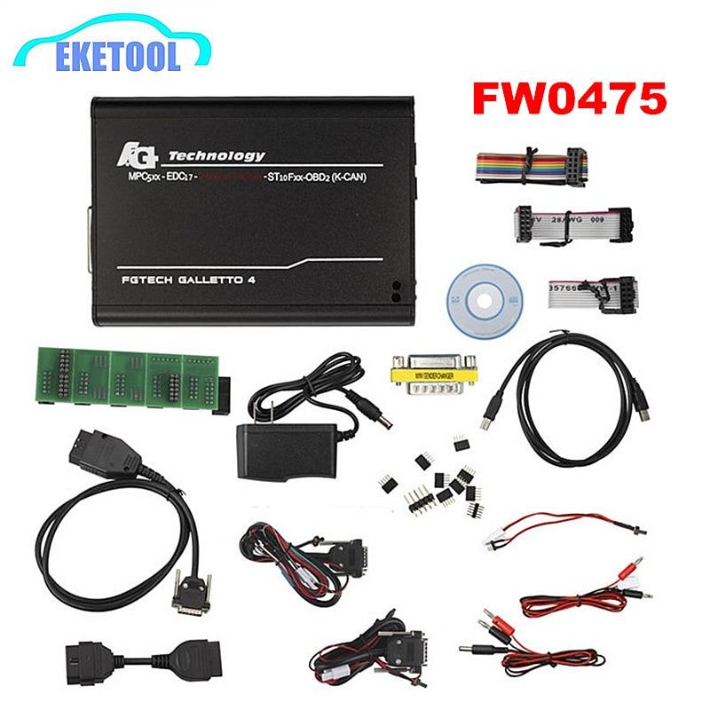 Technologie FG V54 0386 0475 Master ECOBD2 adaptateurs complets OBD2 K-CAN USB2 FGTECH Galletto 4 FG-TECH BDM-tricor-obd-fonction