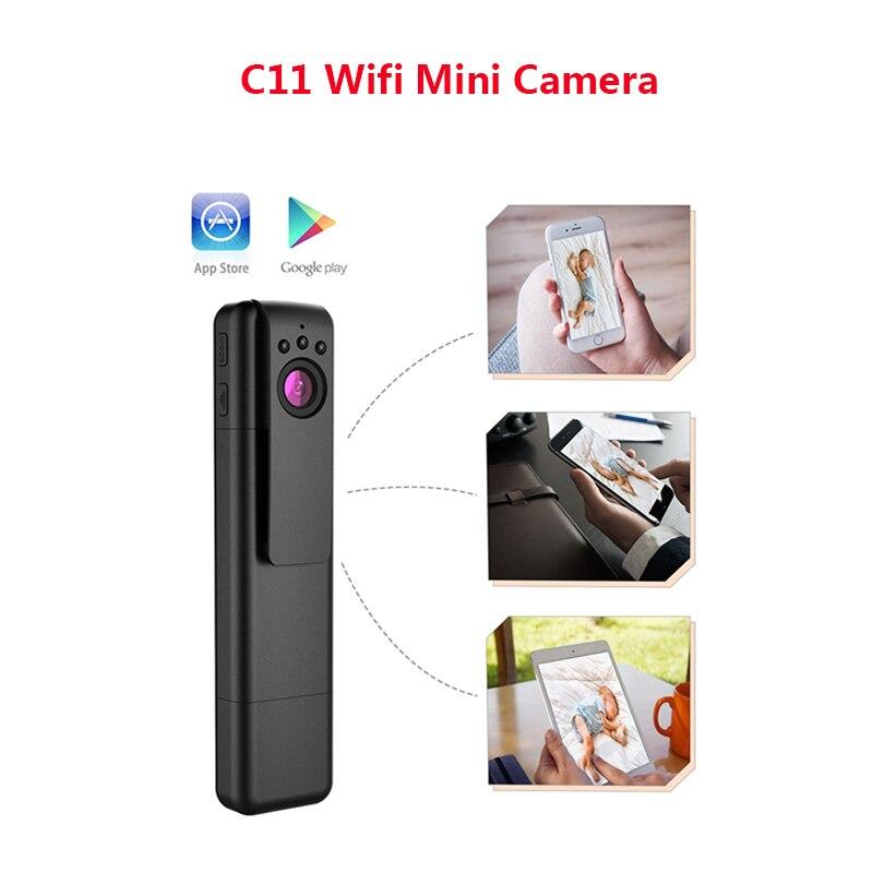 Caméra Wifi P2P stylo Full HD 1080 P Mini caméra Espia Vision nocturne caméra secrète détection de mouvement sans fil petite caméra Mini DVR