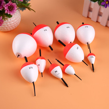 10pcs/60g  Fishing Floating Float  EPS Fishing Sea Fish Float Set 2g-50g with Sticks Pesca Tackle Fishing Float 2017 New