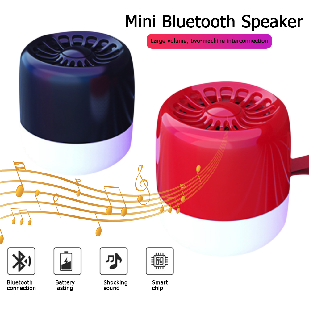 M13 Portable Wireless Bluetooth Speaker with Active Extra Bass- Outdoor Smart Mini TWS Audio Subwoofer Speakers