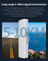 2pcs High Power Outdoor WIFI Router 5.8Ghz Wi fi Access Point CPE 5 10KM 48V POE Bridge 2*14dBi Antenna Wireless Wi fi Repeater