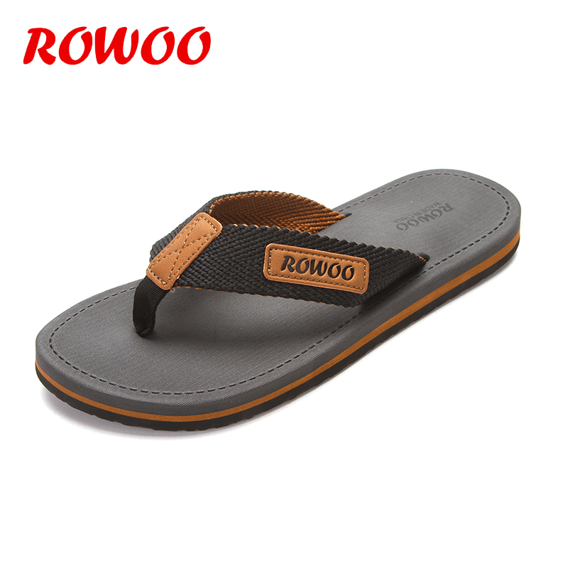 Casual Slippers Men Shoes Summer Flipflops Shoes Beach Sandals Male Soft Slipper Flip-flops EVA Sandals Summer Men Flip flops(China)