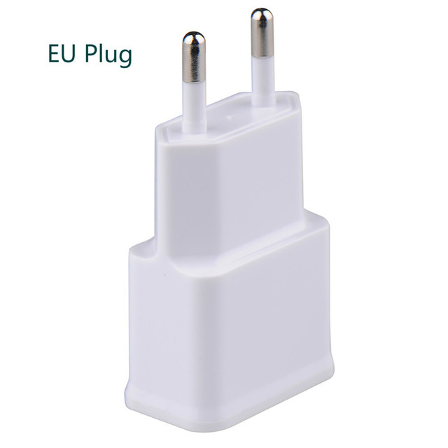 5V 2.0A 1.0A EU US Plug Dual Double USB Universal Phone Charger AC Power Wall Charger for Home Travel for Iphone 6s for Samsung