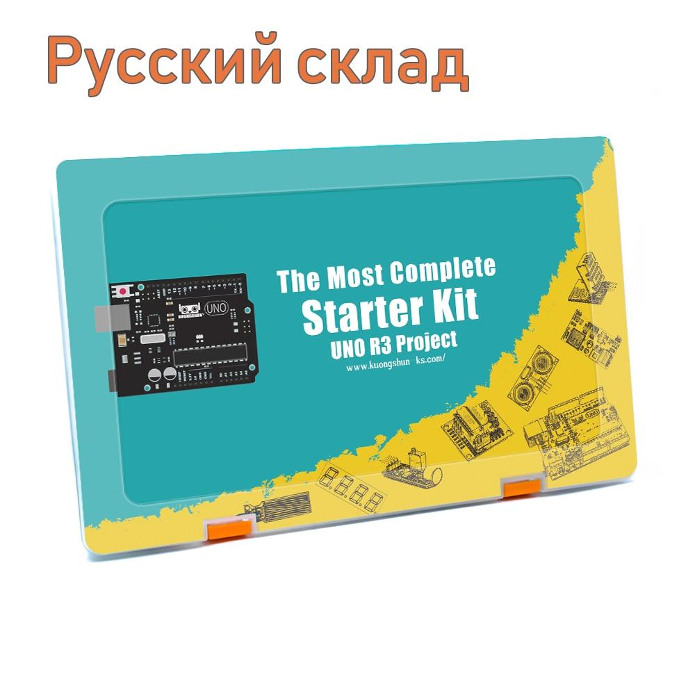 Kit de bricolage électronique de démarrage de projet UNO/MEGA EL-KIT-003 Robotlinking avec tutoriel pour Arduino