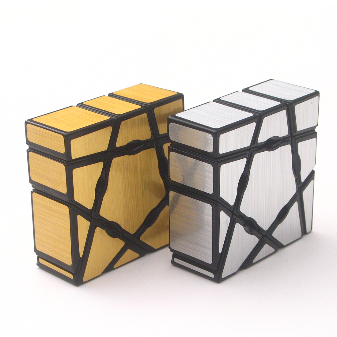 YJ Strange Shape Mirror 1x3x3 Magic Cube Puzzle Toy Magic Cast Coated Cube Toys For Children Kids Educational Gift Toy