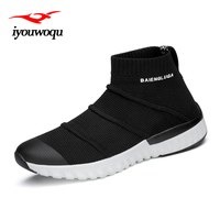 Hot 2018 Spring Trendy Sports Shoes For Male Mesh Breathable Sneakers Design Outdoor Walking And Running
