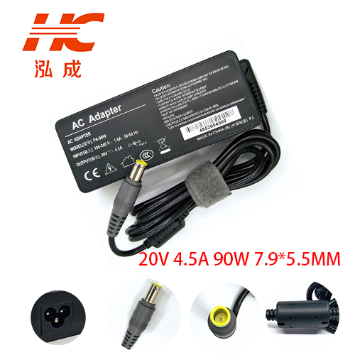 20V 4.5A 90W 7,9*5,5mm AC ноутбук зарядное устройство адаптер питания для Lenovo для Thinkpad T500 R400 SL300 SL400 T510 портативный адаптер
