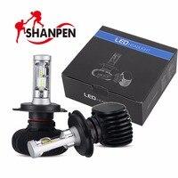 2pcs Car LED Headlights Bulb 50W 8000LM H4 H7 H8 H11 9005HB3 9006HB4 Bulb Head Lamp