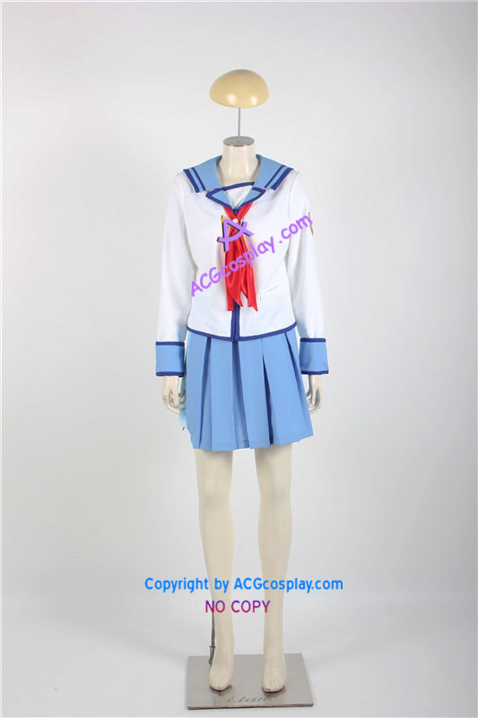 Angel Beats Yuri Nakamura Cosplay costume girl uniform