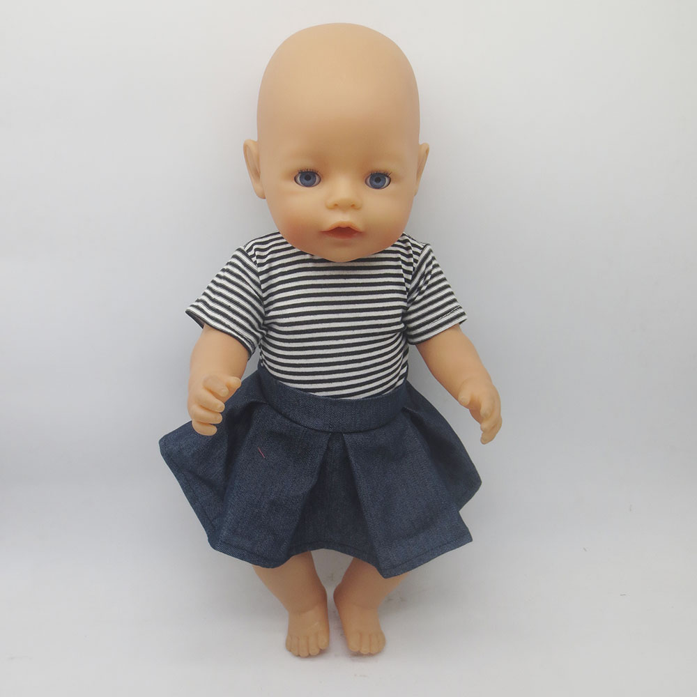 43cm Zapf Baby Born font b Doll b font Clothes All kinds of style clothes children