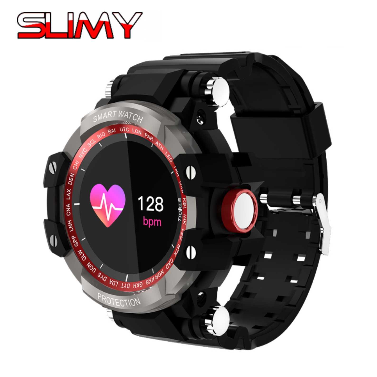 Slimy GW68 Sports Smart Watch Waterproof Heart Rate Call Notification Bluetooth Remote Control Alarm Clock Smartwatch