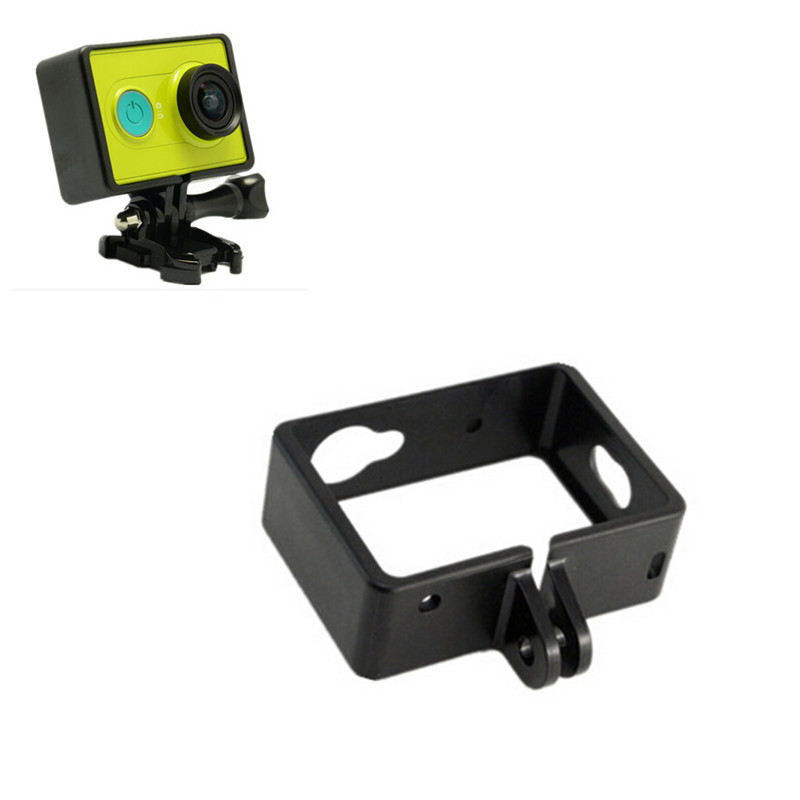 Protective Side Frame Case Cover for Xiaomi Yi XiaoYi Sports Action Camera Accessories Black