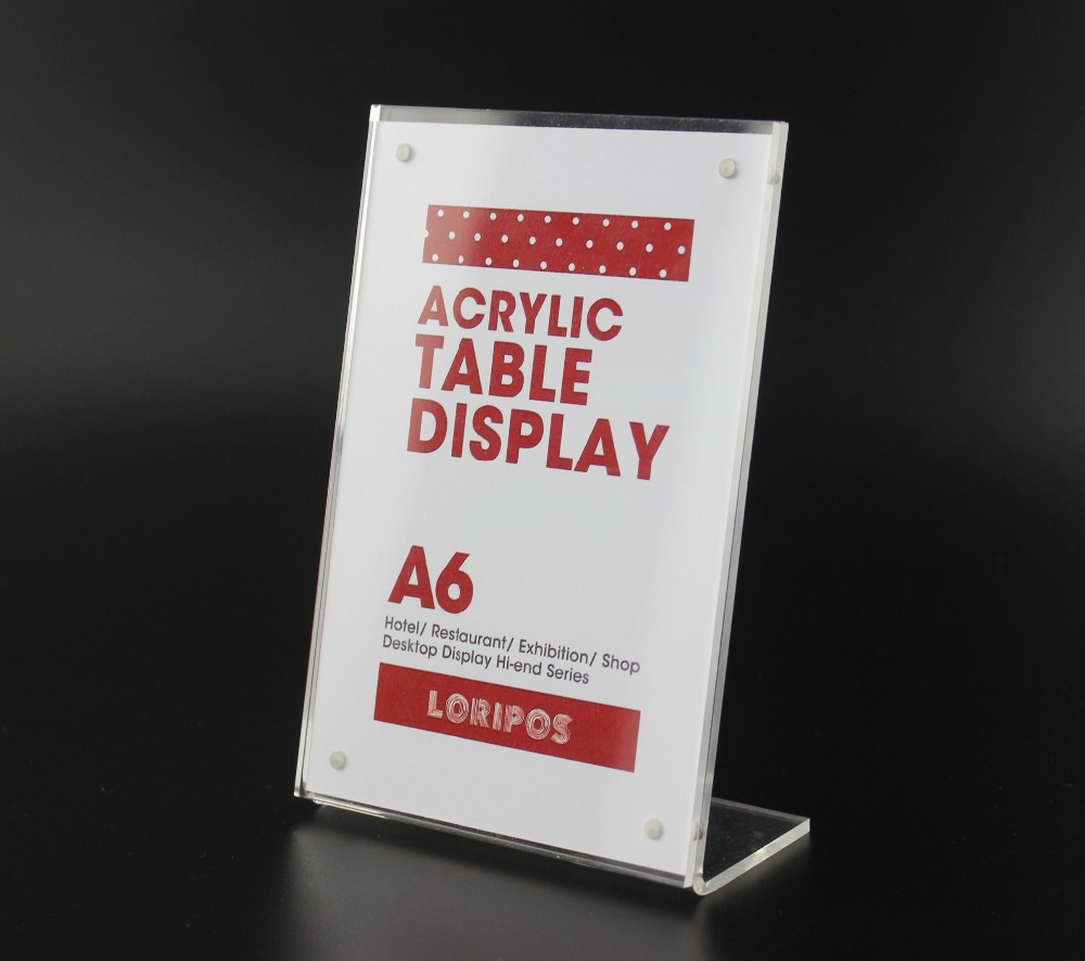 15 10cm A6 Price Tag Sign Clip L Strong Magnetic