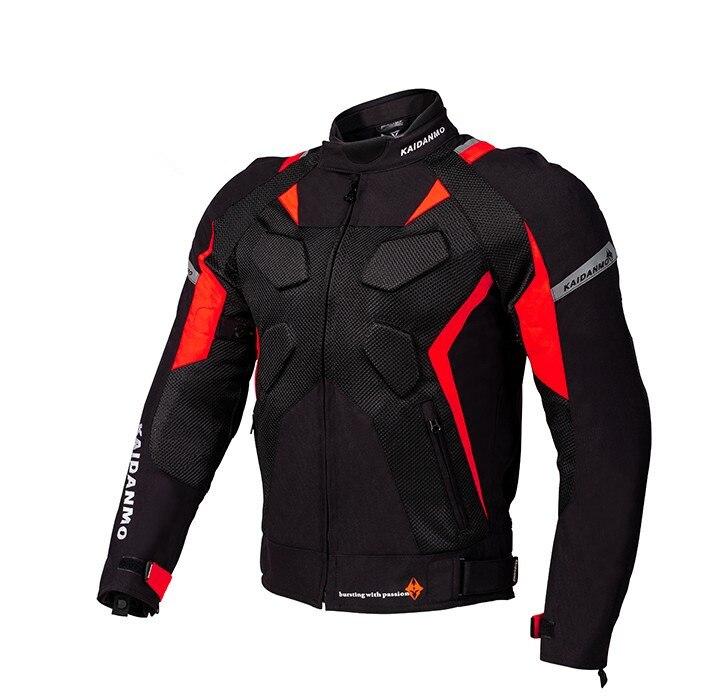 Veste de Moto veste de Moto coupe-vent Moto équipement de protection complet du corps armure été maille Moto vêtements