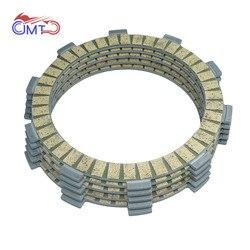 Para yamaha xt225 serow 1992-2000 ttr225 1999-2004 ttr230 2005-2017 kit de placa de disco de fricção de embreagem 5 peças