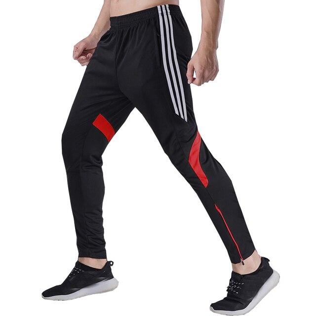 16265aacf6f14 ... Soccer Training Pants Cycling Jogging Sport Pants Fitness Gym Clothing  Football Training Running Pants Tracksuit Men ...