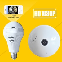 1080P Bulb Light Wireless IP Camera HD 2MP Mini Lamp Wifi P2P Camera Wi FI FishEye