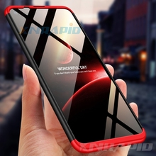 360 Full Protection Case for Samsung Galaxy A90 A80 A70 A60 A50 Matte Hard Shockproof Cover M40 M30