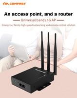 Wireless CPE 4G Wifi Router Portable Gateway FDD TDD LTE Global Unlock External Antennas SIM Card Slot WAN/LAN Port Wifi Base AP