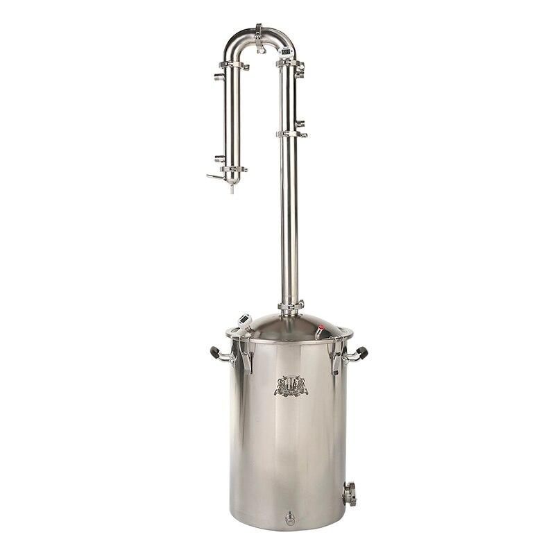 Kit para destilação. 55L Tanque com