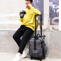 BeaSumore плечи многофункциональная фотография дорожная сумка для фотографа Профессиональный вместительный рюкзак ударопрочная тележка