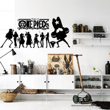One piece Anime Wall Decal Sticker