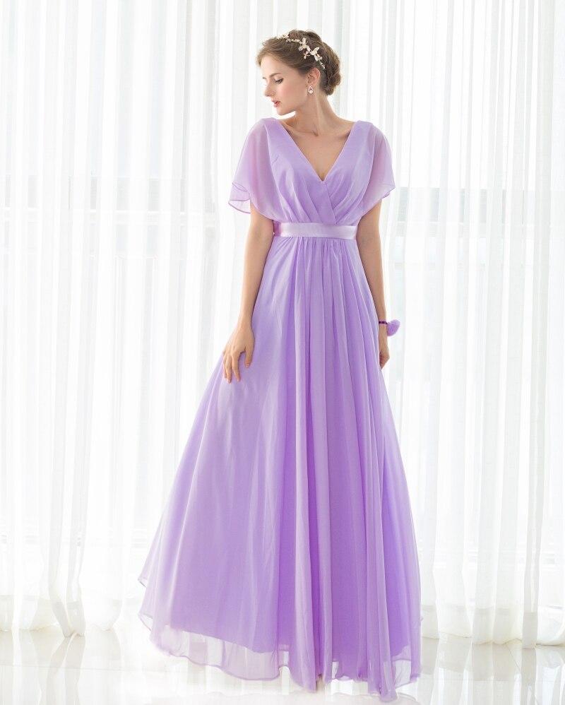 Magnífico Asequibles Vestidos De Dama De Color Púrpura Ideas ...