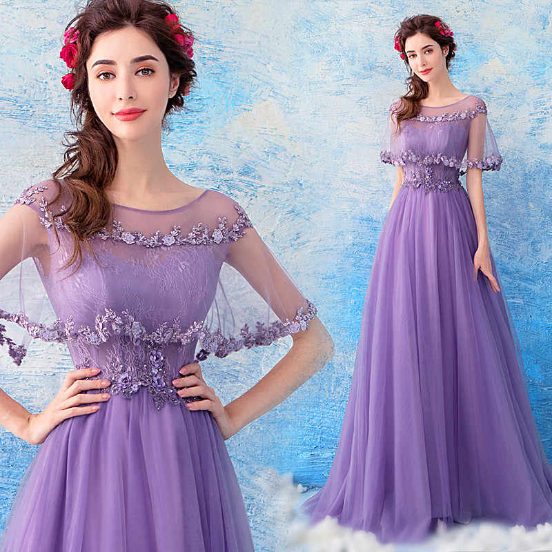 1756e9bf52206 ... Romantic Purple Pregnant Woman Evening Dress Maternity Clothing V Neck  Applique Beaded Sequins Maternity Party Gowns ...