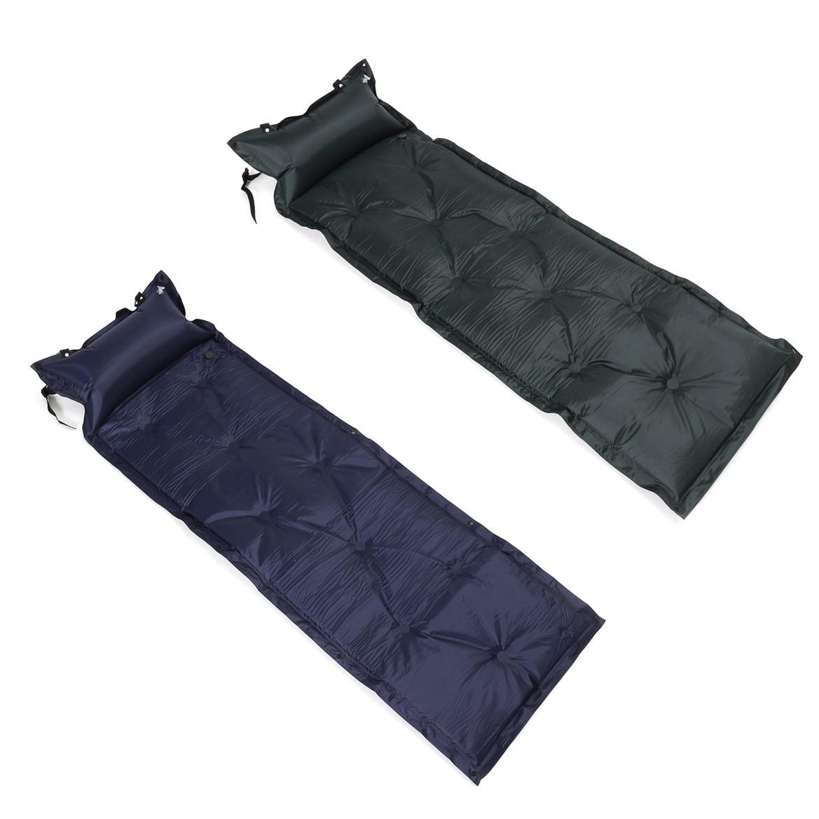 1pcs Self-Inflating Mattress Inflatable Outdoor Bed Pillow Sleeping Pad Air  Mat Mattress Tent Picnic