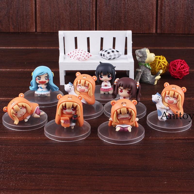 Himouto Umaru chan himouto umaru chan figure doma umaru doll PVC Action Figure Set Collectible Modle ToysAction & Toy Figures   -