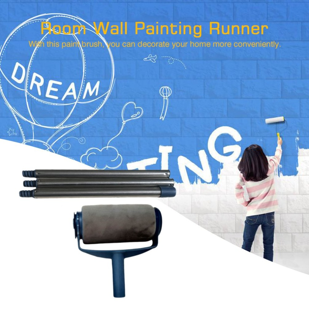 3pcs Extensible Threaded Poles Stainless Steel Pole Painting Handle for Paint Roller Portable Home Office Painting Tool