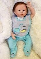 DOLLMAI bebes reborn boneca 49 см мягкие силиконовые реборн куклы настоящие реалистичные милые куклы игровой дом игрушки для детей Рождественский подар