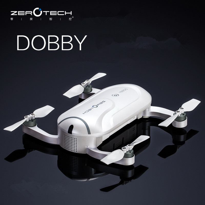 Original ZEROTECH Dobby Pocketable Selfie Pocket Drone FPV With 4K HD Cam GPS Smart Solution RC Quadcopter APP Control F19092 jjr c jjrc h43wh h43 selfie elfie wifi fpv with hd camera altitude hold headless mode foldable arm rc quadcopter drone h37 mini
